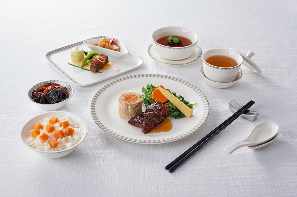 食全味美夏季套餐/米香台菜/新加坡航空/商務艙飛機餐