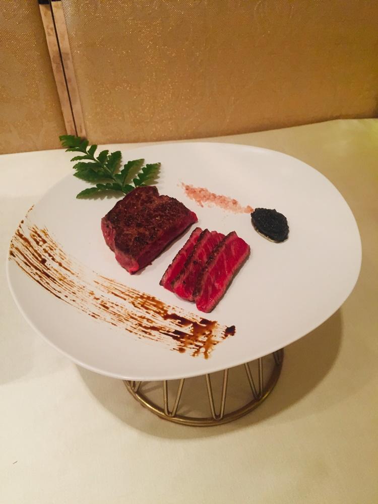 黑松露醬炆星班扒/大倉久和大飯店/台北