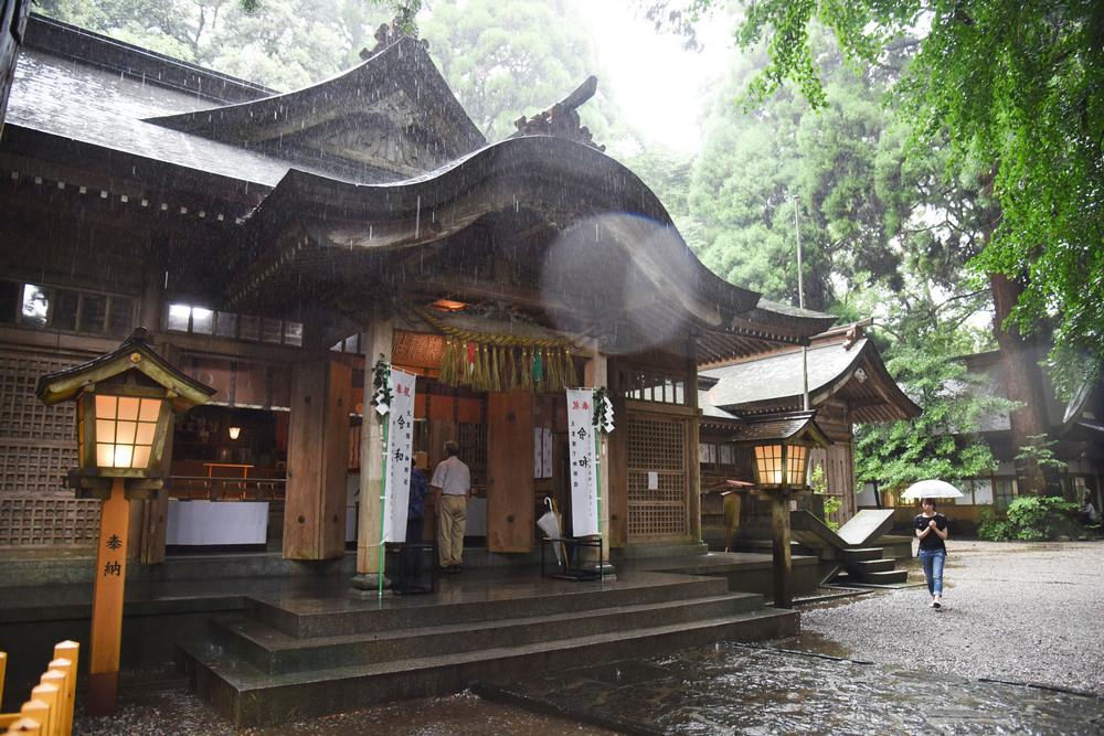高千穗神社/宮崎/九州/日本/旅遊/古事記/日本皇室發祥之地