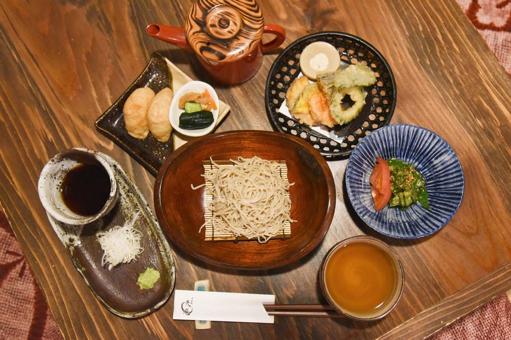 蕎麥麵/そば処 天庵/高千穗/宮崎/九州/日本/美食