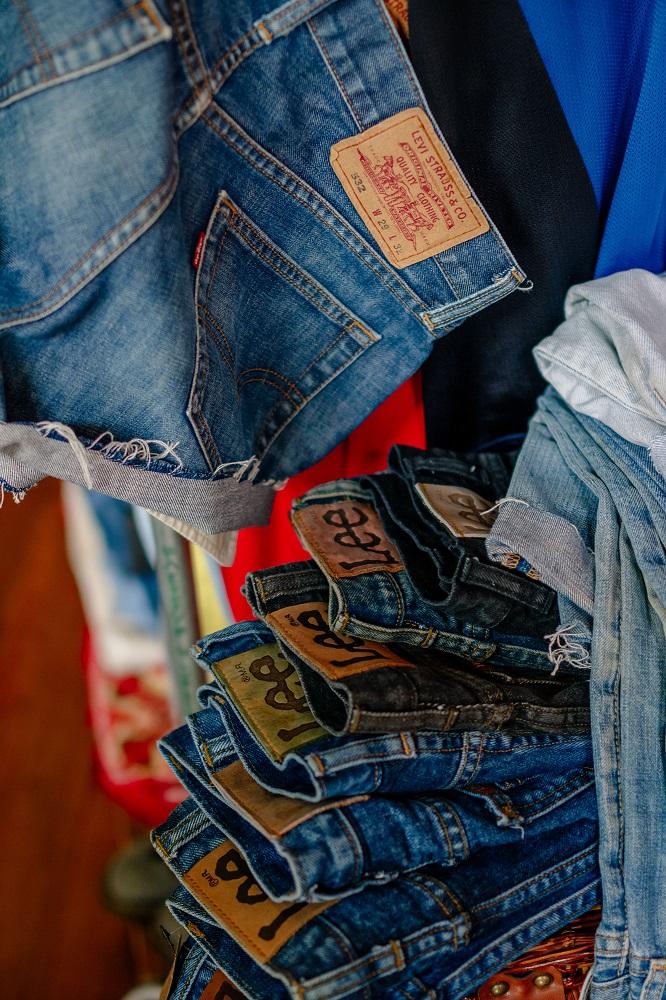 拾皝/Vintage/二手衣物/新竹/美式古著/牛仔褲
