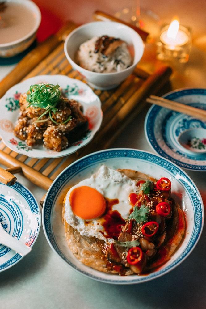Ba hao 八號/深夜酒館/扣肉蔥油餅/左宗棠雞/曼谷/泰國