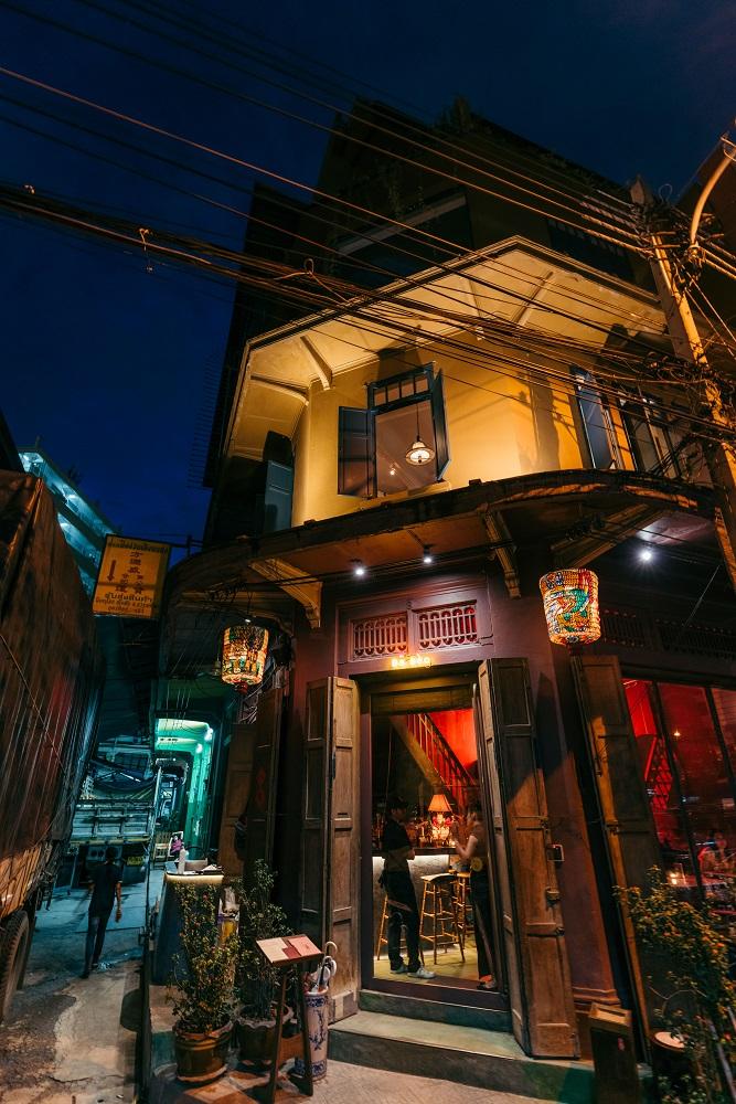 Ba hao 八號/深夜酒館/外觀/中國韻味/曼谷/泰國