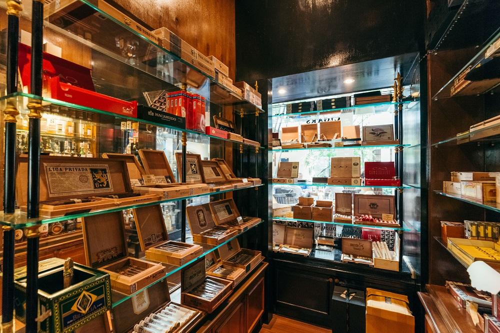 雪茄房/雪茄/威士忌/酒吧/Character Whiskey & Cigar Bar/曼谷