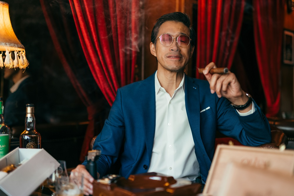 紳士/雪茄/威士忌/酒吧/Character Whiskey & Cigar Bar/曼谷