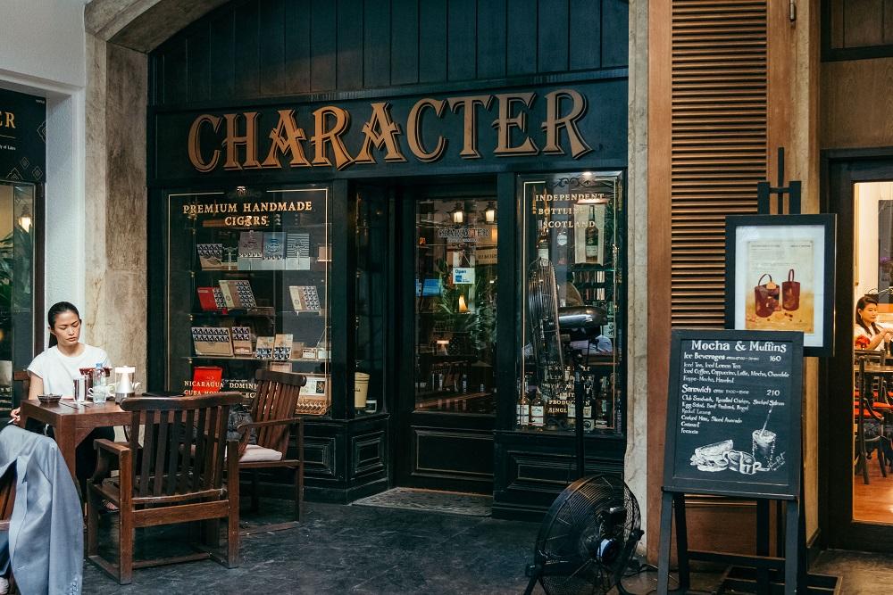 復古風情/火車車廂/酒吧/Character Whiskey & Cigar Bar/曼谷