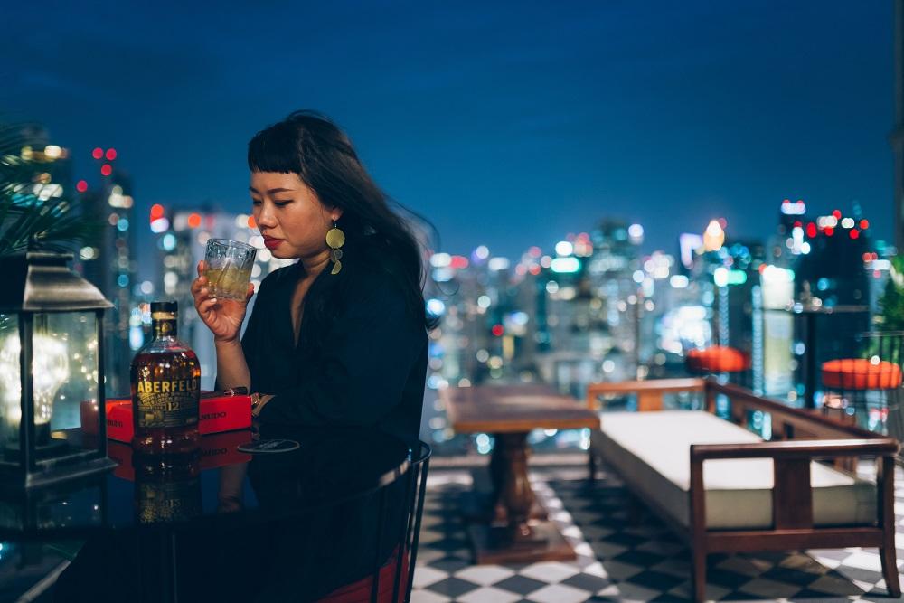 夜景/雪茄/威士忌/古巴主題/屋頂酒吧/Character Whiskey & Cigar Bar