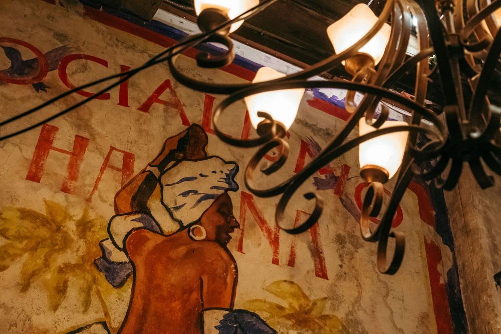 Havana Socia/曼谷/古巴懷舊風/酒吧/褪色壁畫