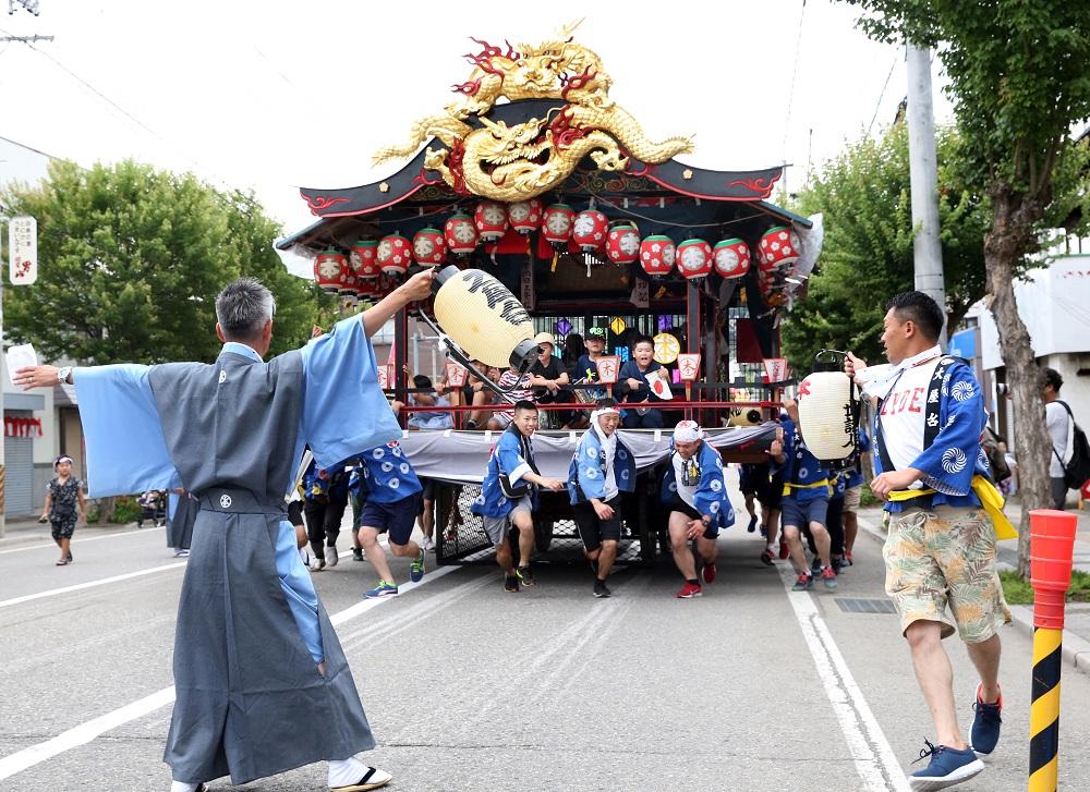 會津田島祇園祭/日本第一花嫁遊行/七行器行列