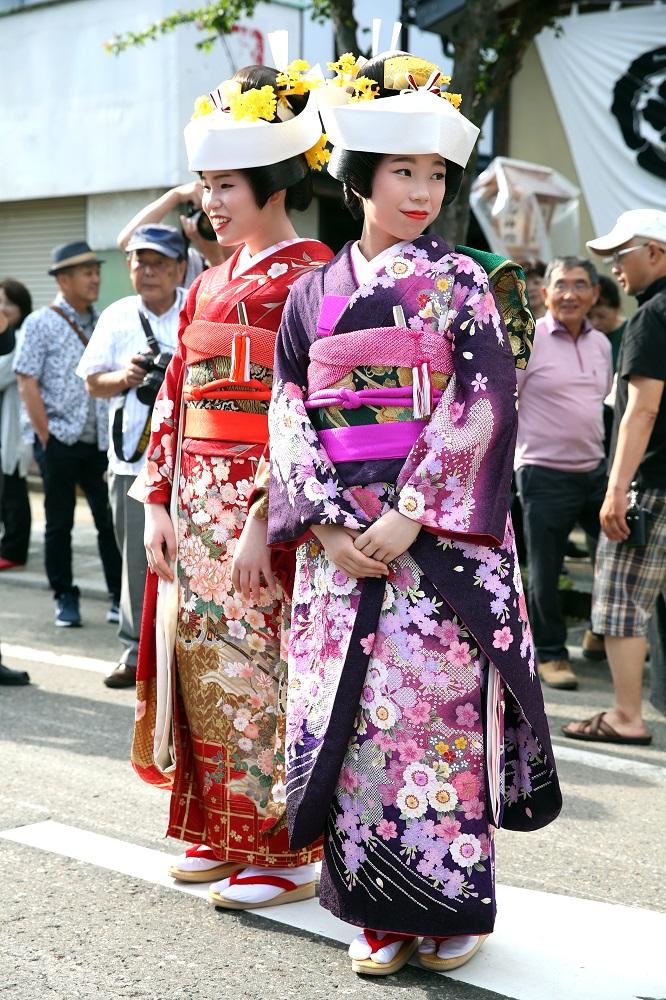 會津田島祇園祭/日本第一花嫁遊行/華麗振袖和服