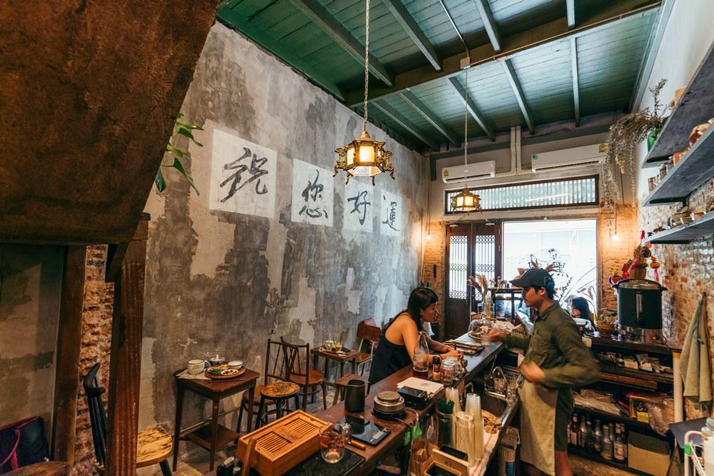 Heijii Bangkok/曼谷/泰國/中國風咖啡館