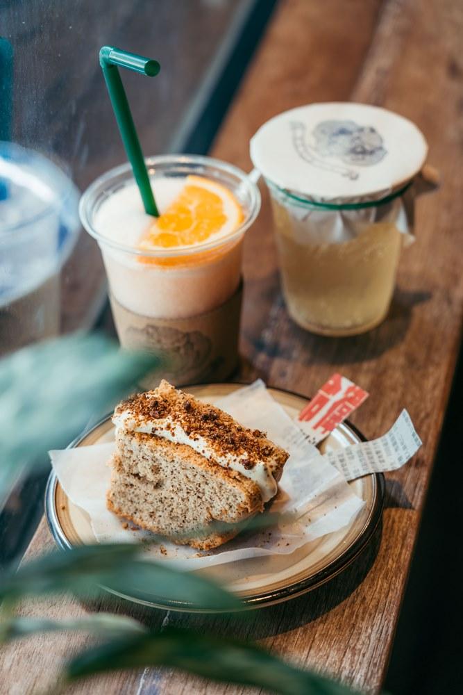 Heijii Bangkok/曼谷/泰國/中國風咖啡館/伯爵戚風蛋糕