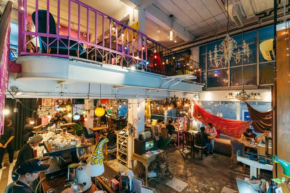 Sundays/曼谷/泰國/復古咖啡廳