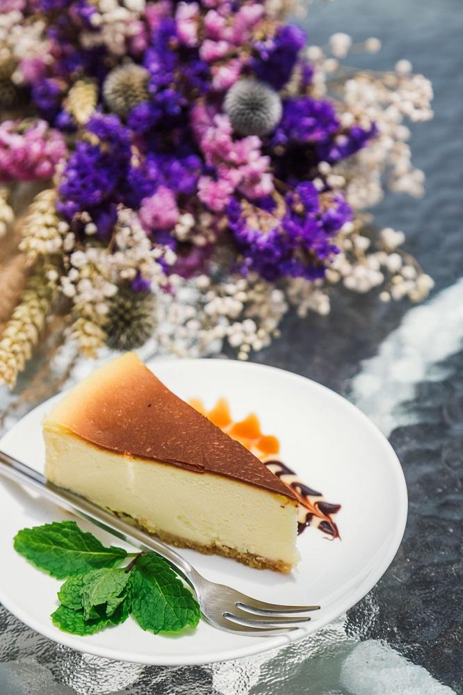 及林春咖啡館/露天座位/輕食/咖啡/澎湖/乳酪蛋糕