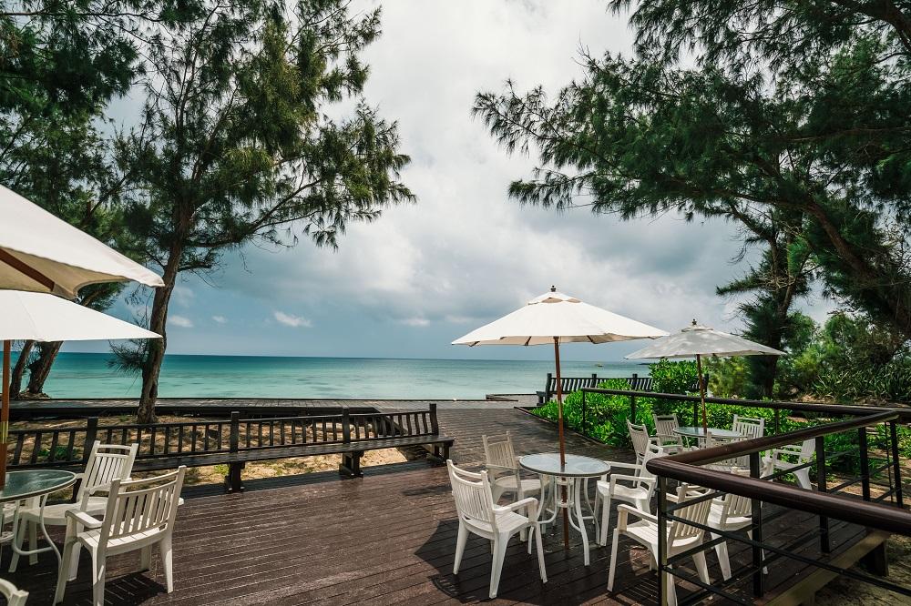 及林春咖啡館/露天座位/澎湖/療癒海景