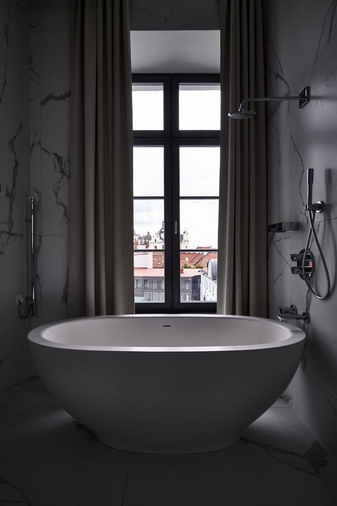 HOTEL PACAI/維爾紐斯/立陶宛/旅遊/設計旅館/巴洛克建築/客房浴室
