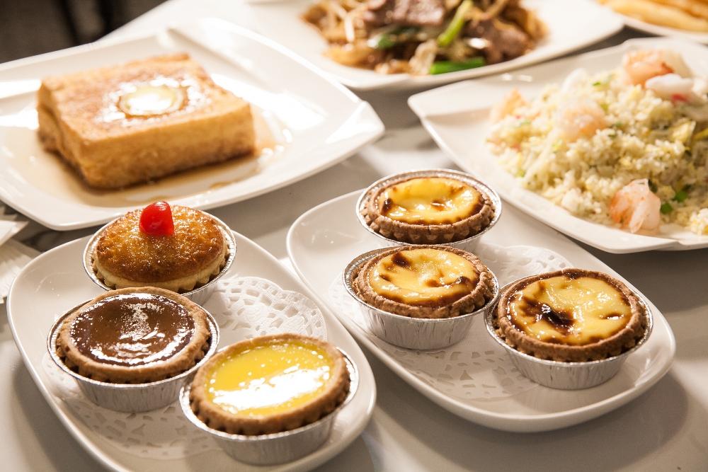 葡式芙蓉蛋撻/泰昌餅家/信義美食/茶餐廳/港式料理/統一時代百貨/台北