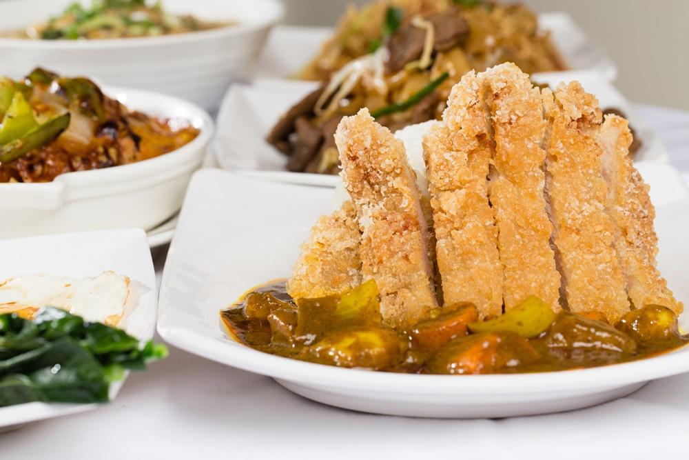 馬來咖哩雞扒飯/葡式芙蓉蛋撻/泰昌餅家/信義美食/茶餐廳/港式料理/統一時代百貨/台北