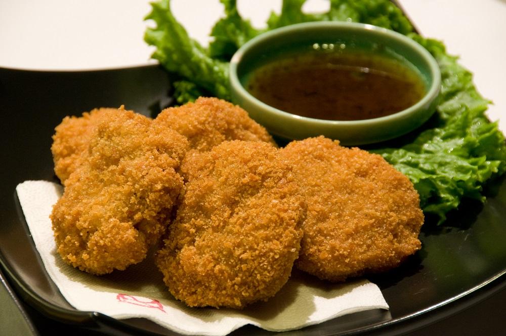 金錢蝦餅/辣酸甜鹹/紅舍泰式主題餐廳/台中勤美誠品綠園道