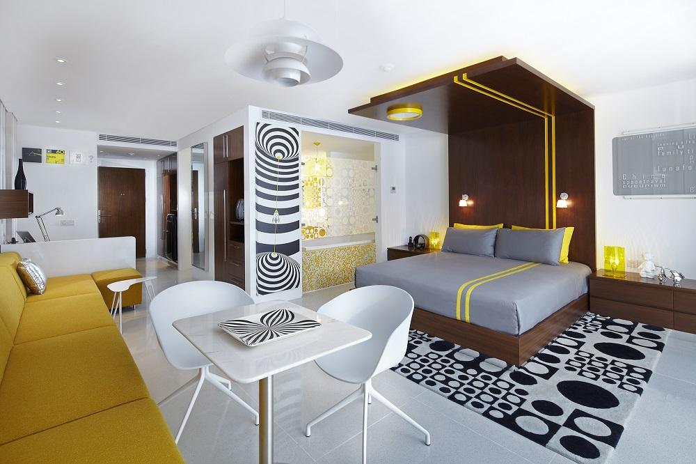 Luna2 Studios/印尼/絕景飯店/Studiotel/普普藝術/客房