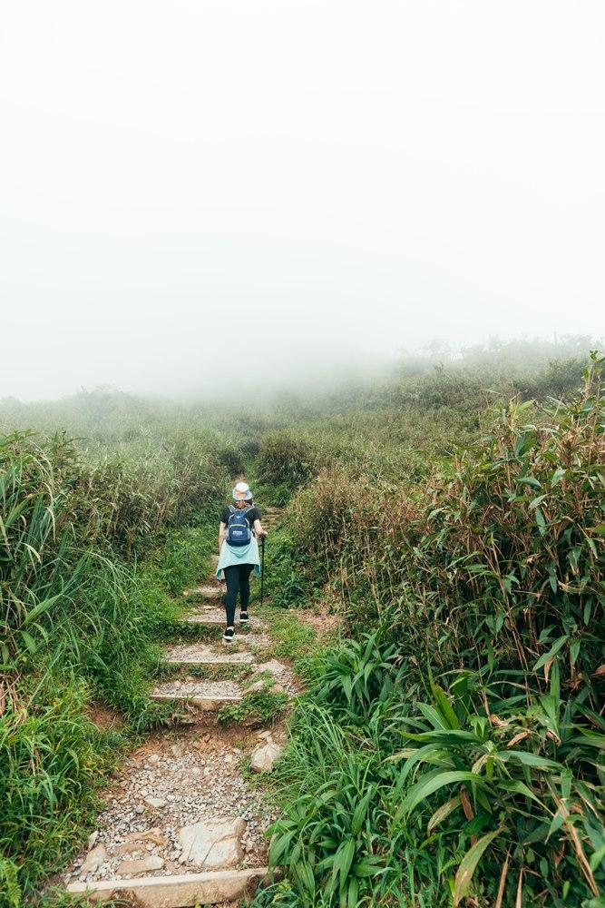 宜蘭抹茶山的步道5