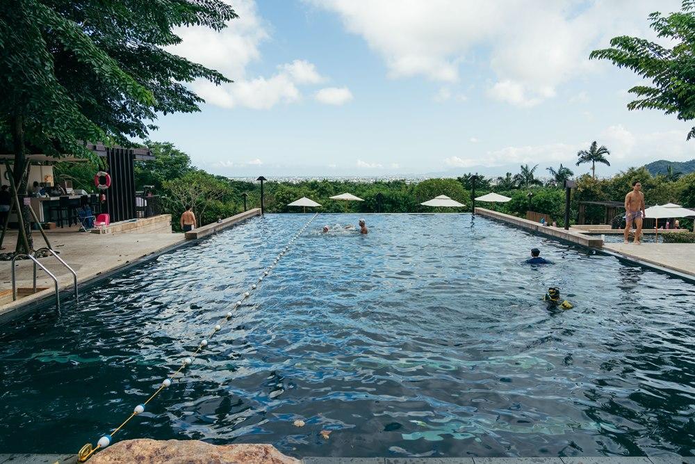宜蘭礁溪老爺酒店的無邊際游泳池