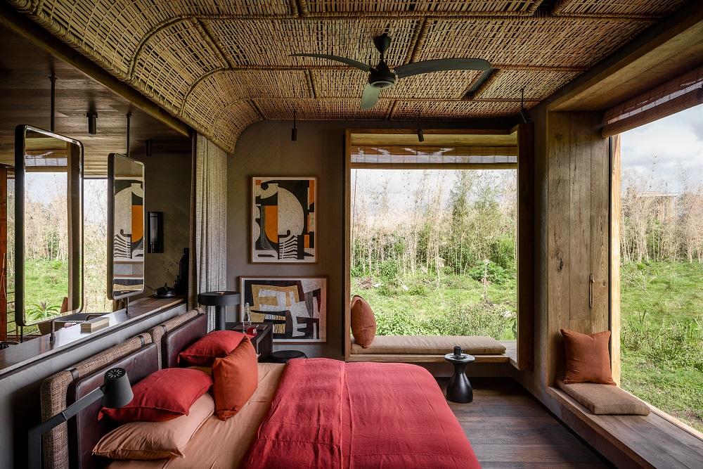 Singita/非洲/盧安達/荒野保護區/客房/竹子編織/原始自然