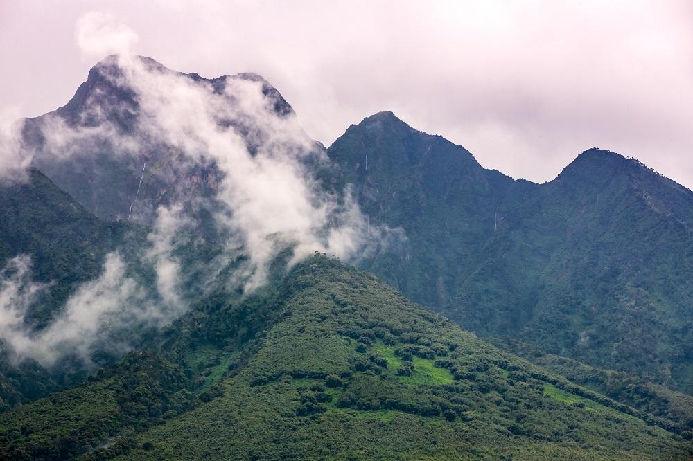 Singita/非洲/盧安達/荒野保護區/火山