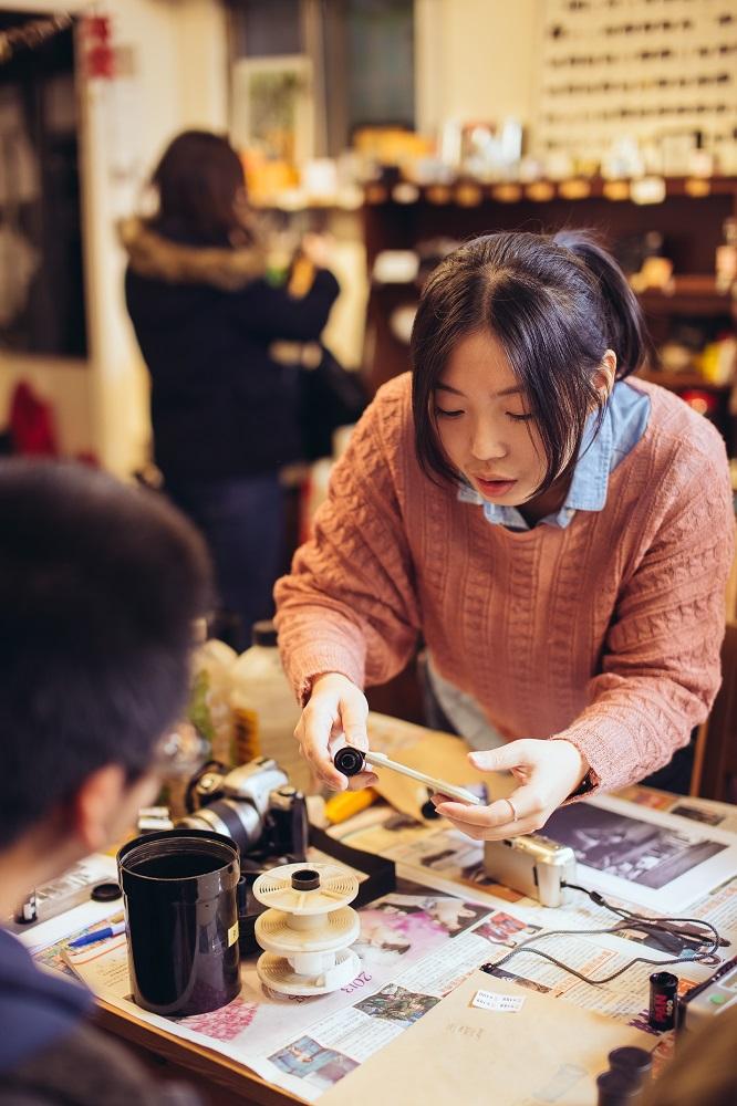 198 ギャラリー CAFE/台北/萬華/底片相機/黑白沖片