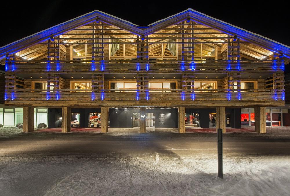 W Hotel Verbier/瑞士/絕景飯店/滑雪度假勝地/農舍風