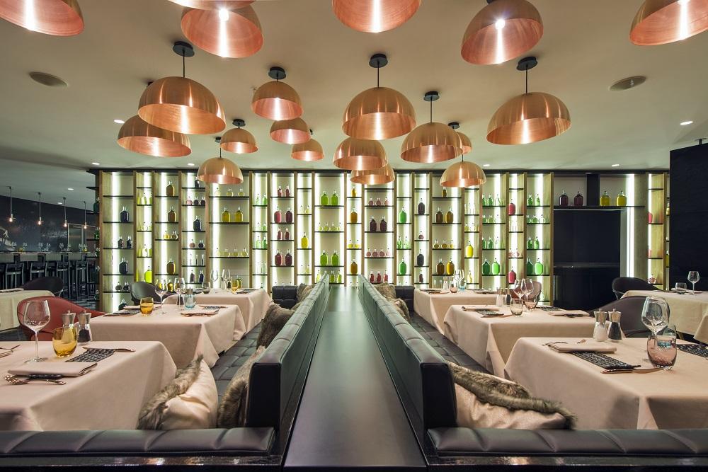 W Hotel Verbier/瑞士/絕景飯店/滑雪度假勝地/餐廳