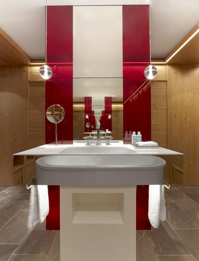 W Hotel Verbier/瑞士/絕景飯店/滑雪度假勝地/浴室