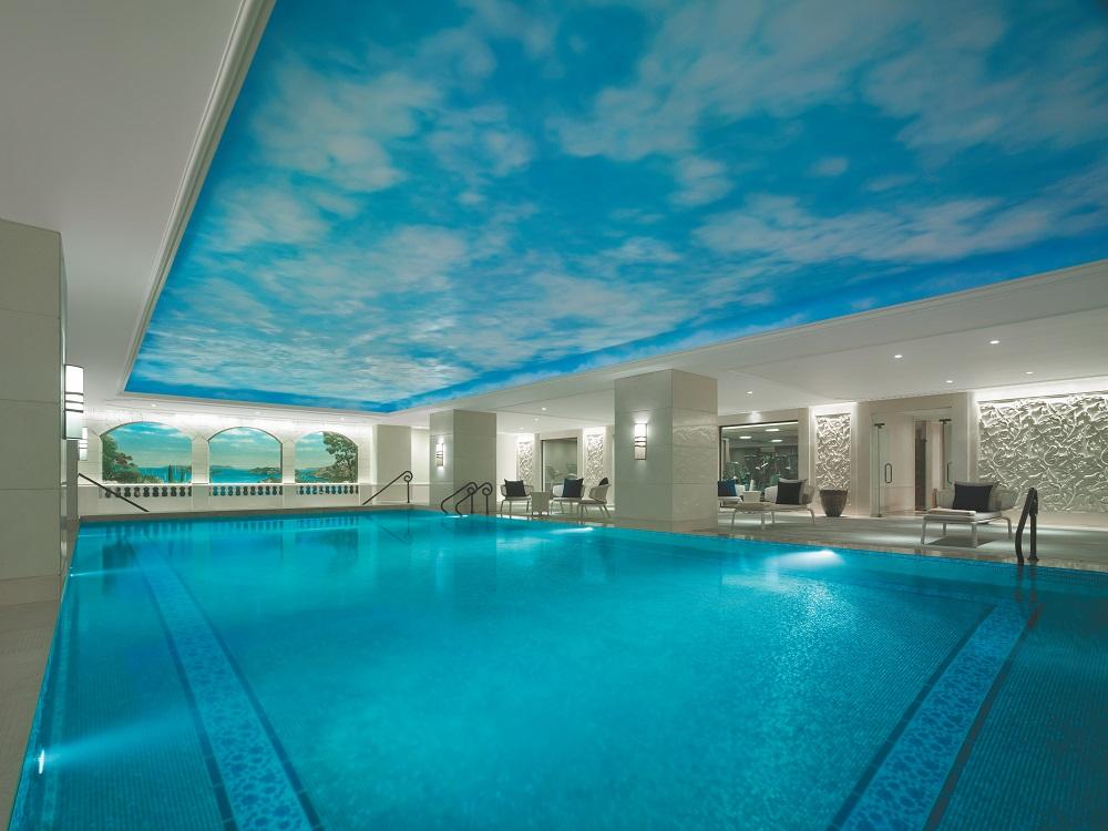 Shangri-la Bosphorus/土耳其/伊斯坦堡/室內溫水泳池