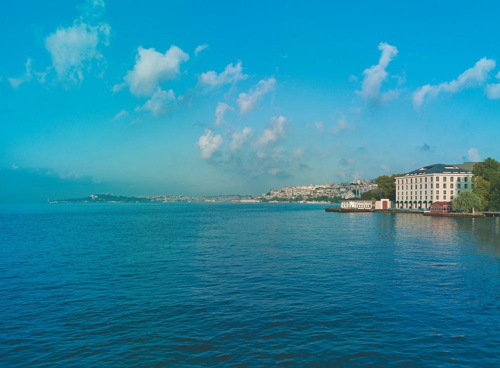 Shangri-la Bosphorus, Istanbul/土耳其/博斯普魯斯海峽/香格里拉/海天