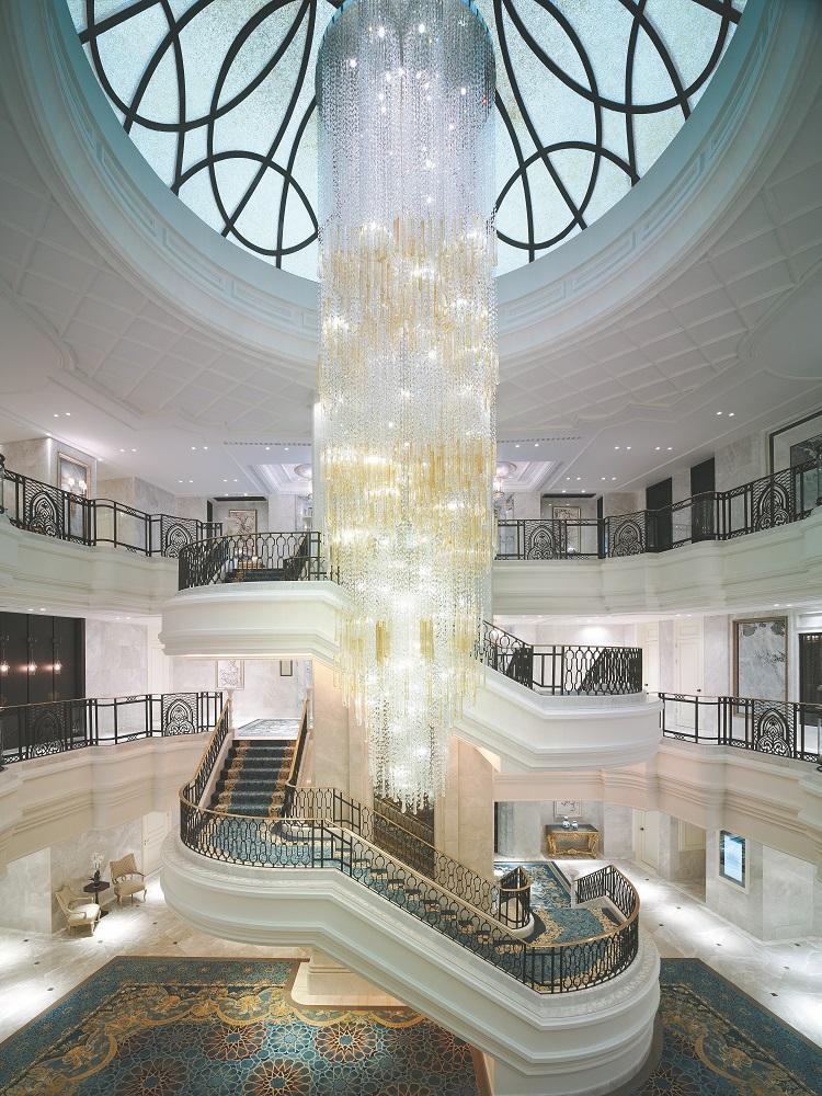 Shangri-la Bosphorus/土耳其/伊斯坦堡/波希米亞巨大水晶吊燈