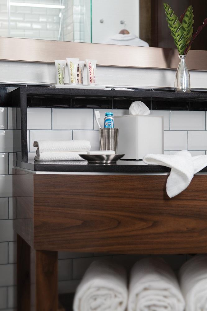 Archer Hotel New York/曼哈頓/紐約/盥洗用品/浴室一隅