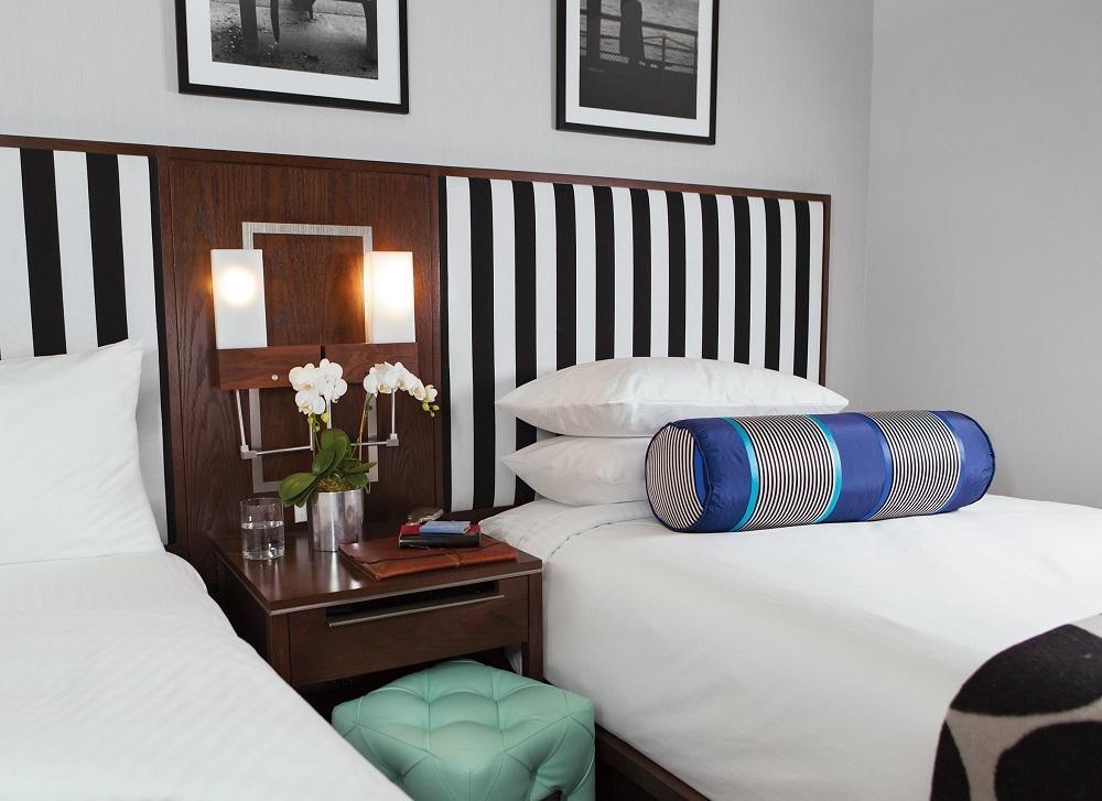 Archer Hotel New York/曼哈頓/紐約/簡潔/黑白配色/客房