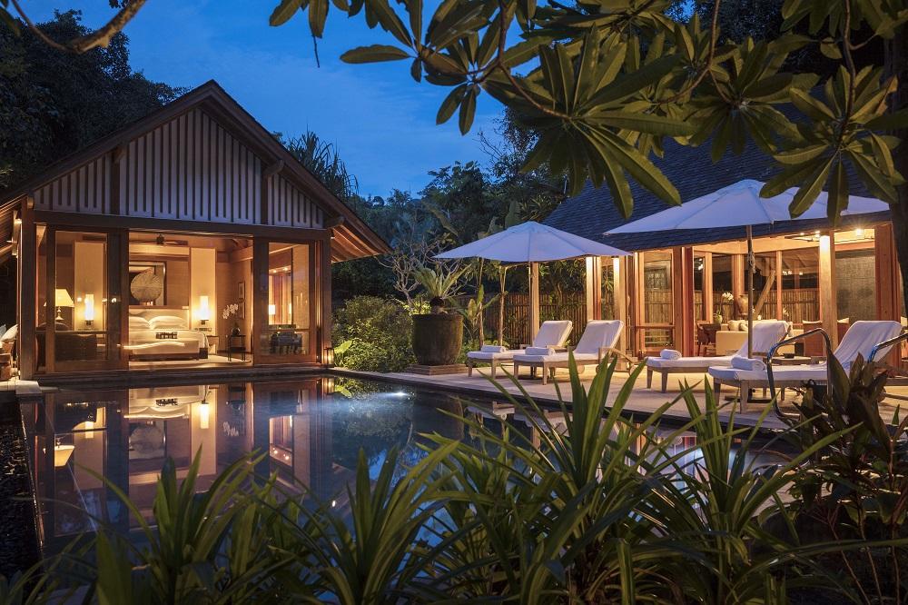 The Datai Langkawi/馬來西亞/熱帶雨林/私人泳池/別墅