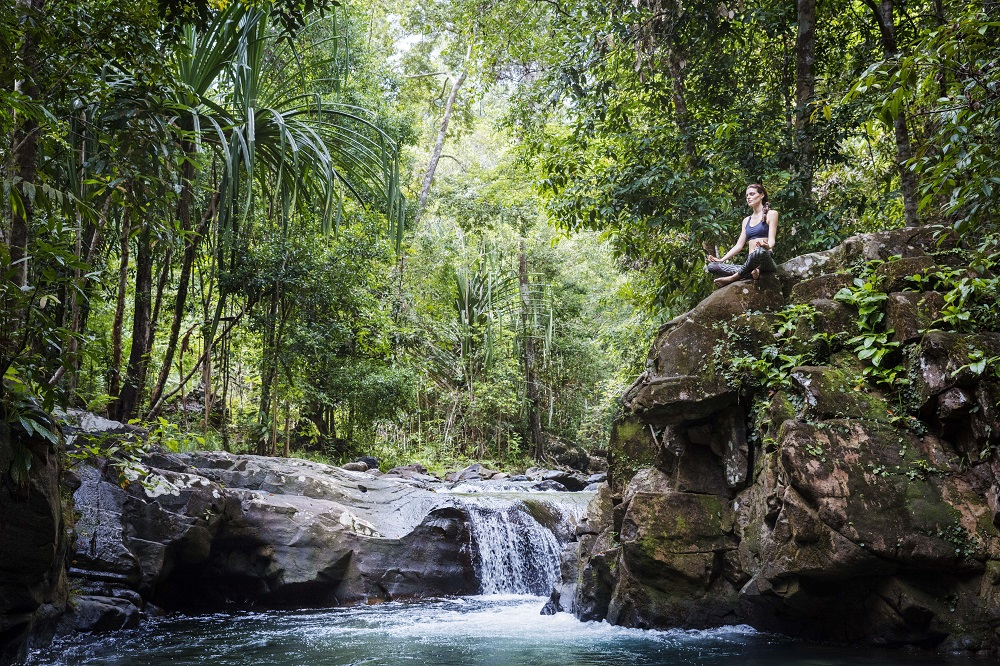 The Datai Langkawi/馬來西亞/熱帶雨林/瑜珈/潺潺溪流
