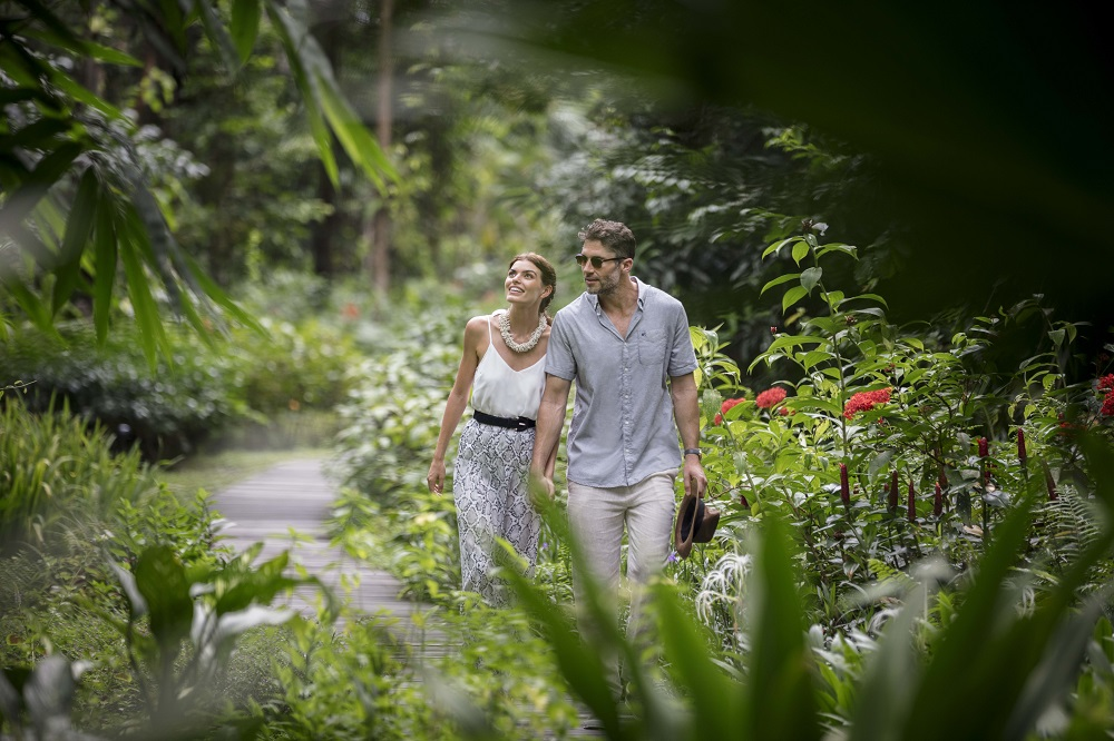 The Datai Langkawi/馬來西亞/熱帶雨林/樹冠步道/情侶/散步