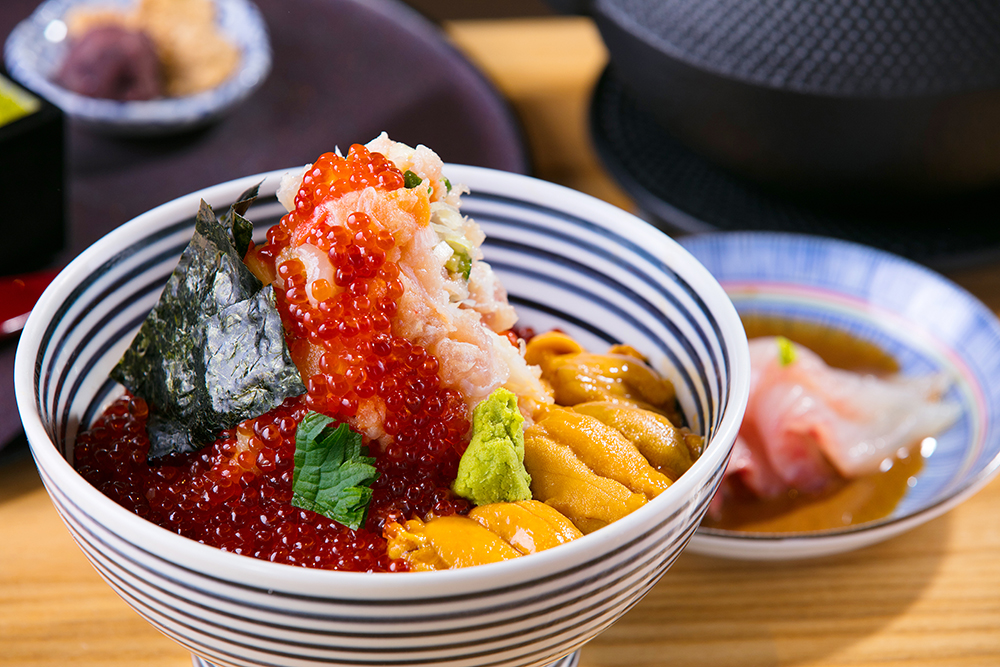 信義區美食/台北/鮭魚卵/海膽/海鮮珠寶盒/海鮮丼Tsujihan