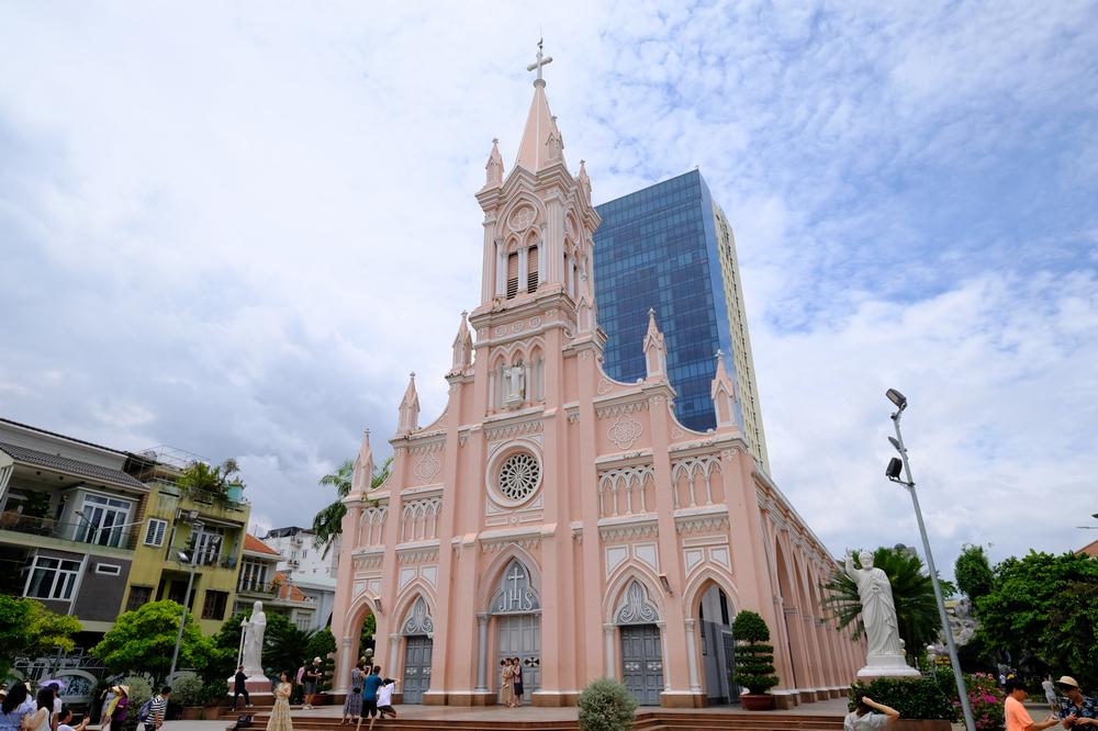 峴港大教堂/峴港/越南/旅遊/IG打卡