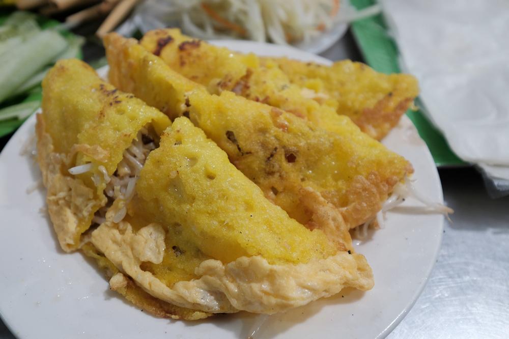 Bánh Xèo Bà Dưỡng/峴港/越南/美食/在地小吃/越式煎餅