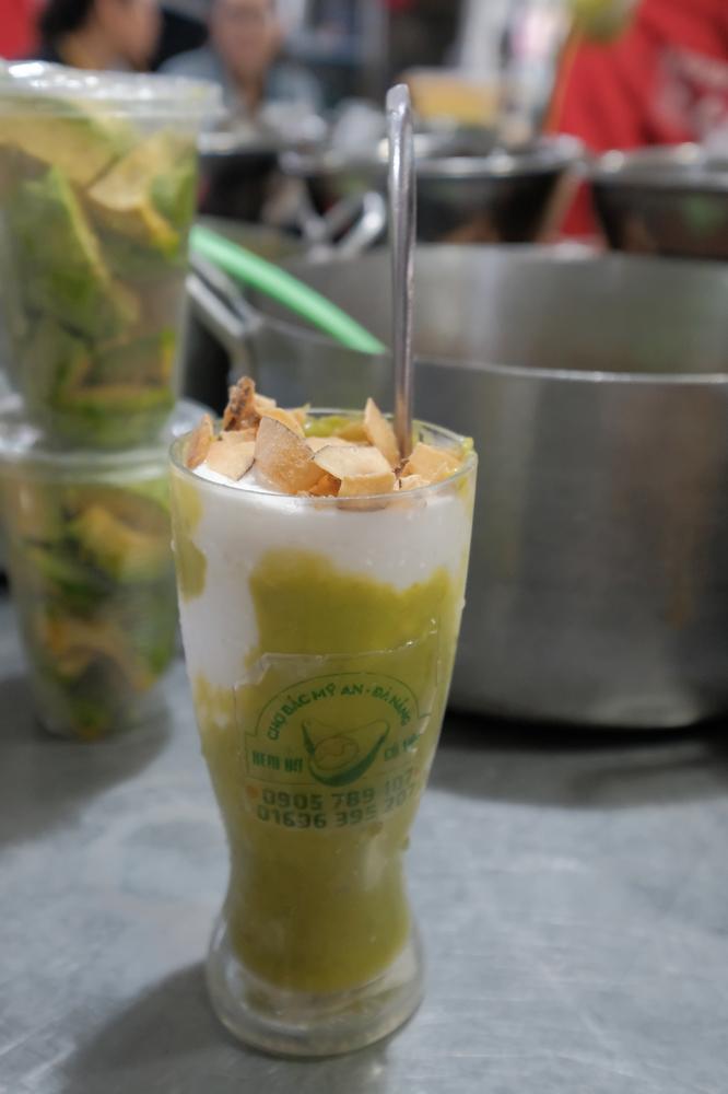 Kem Bơ Cô Vân/峴港/越南/美食/在地小吃/酪梨冰淇淋