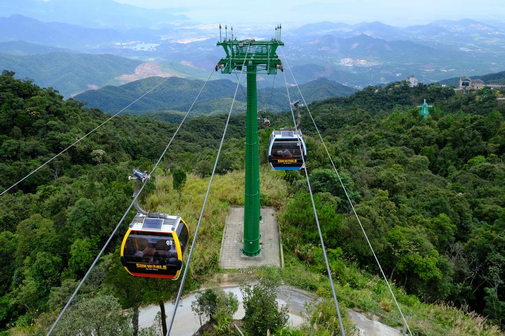 巴拿山/峴港/越南/旅遊/巴拿登山纜車/打卡/金氏世界紀錄