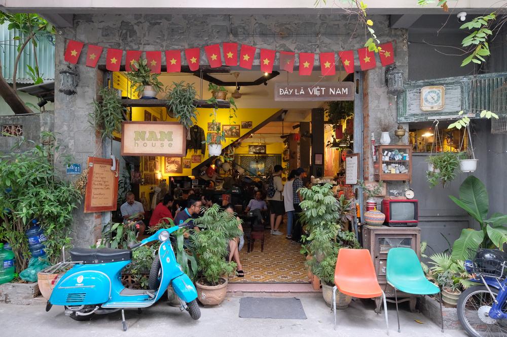 NAM House/峴港/越南/美食/老屋咖啡館/打卡