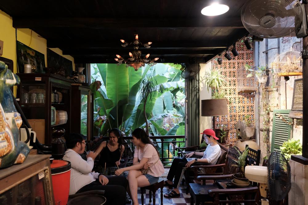 NAM House/峴港/越南/美食/老屋咖啡館/打卡/空間