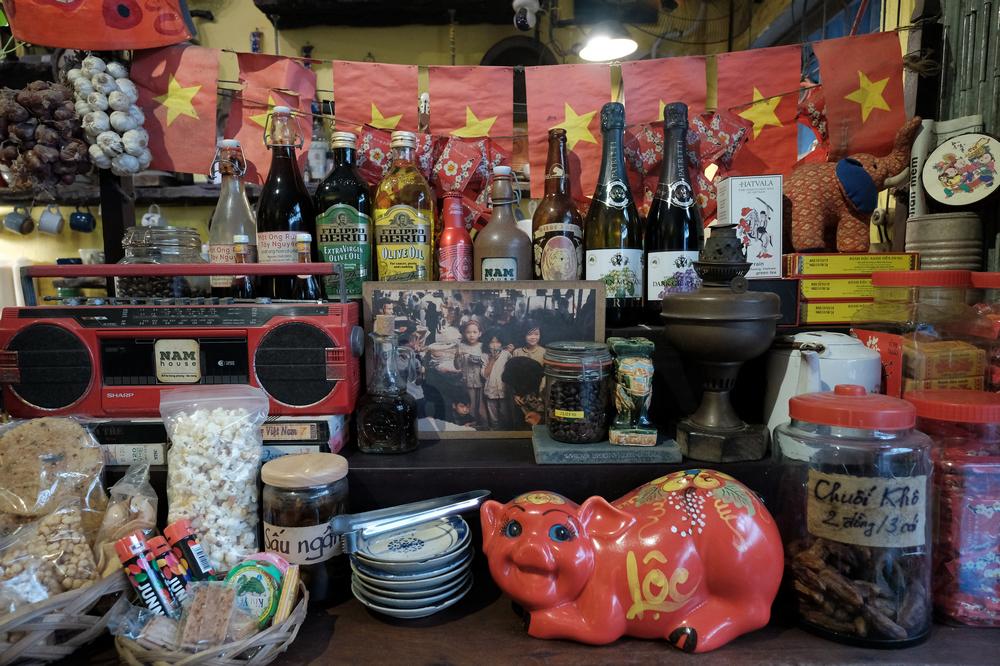 NAM House/峴港/越南/美食/老屋咖啡館/打卡/越南懷舊點心