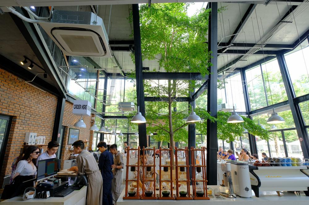 43 Factory/峴港/越南/美食/第三波咖啡/手沖精品咖啡/吧檯