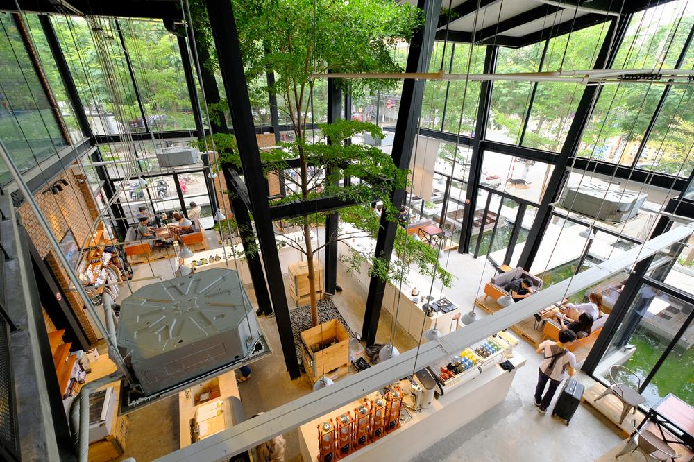 43 Factory/峴港/越南/美食/第三波咖啡/手沖精品咖啡/挑高空間